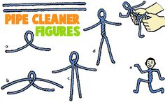 Pipecleaner Crafts for Kids : Arts and Crafts Activities with Pipe Cleaners Chenille Stems for Children Preschoolers