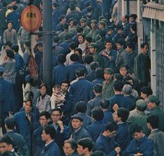 Human flow covering Shanghai in the Shanghai City, Opium Den, Young And Beautiful, Story Of My Life, Laos, 1980s, China, Costume, Sky