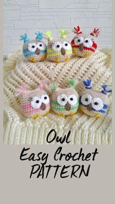 Easy Crochet Animals, Crochet Animal Hats, Crochet Animal Patterns, Crochet Amigurumi Free Patterns, Crochet Dolls, Crochet Yarn, Selling Crochet, Crochet Keychain Pattern, Halloween Crochet
