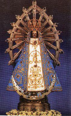 VIRGEN DE LUJÁN PATRONA DE ARGENTINA Fiesta 8 de Mayo. Virgen Mary Petron of Lujan,Gran Buenos Aires.