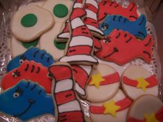 Dr. Seuss Cookies By teriwiley5 on CakeCentral.com