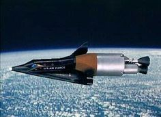 X-20 Dyna-Soar. Reusable spaceplane for military missions.