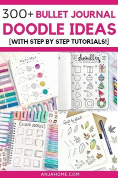 Discover over 300 bullet journal doodle ideas This is the ultimate list of bujo drawing ideas. Check out my favorite cute things to doodle. I prove that simple doodling is for everyone-even though you can't draw> Bullet Journal Doodle Ideas Doodle Bullet Journal, How To Bullet Journal, Bullet Journal Headers, Bullet Journal Notebook, Bullet Journal Layout, Bullet Journal Ideas Pages, Bullet Journal Inspiration, Bullet Journals, Bullet Journal Stencils