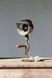 Resultado de imagem para vintage drill lamp