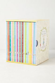 The Complete Peter Rabbit Library - Anthropologie - Love Beatrix Potter!