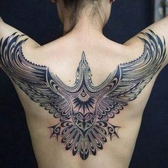 Wing Tattoo for Man - 35 Breathtaking Wings Tattoo Designs <3 !