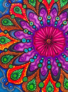 42 Mejores Imágenes De Mandalas Mandala Art Colors Y Fractals