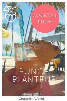 Punch Planteur pour un apéritif plein de soleil ! #aperitif #punch #planteur #cocktail #antilles Cocktails, Alcoholic Drinks, Food And Drink, Cooking, Party, Blog Voyage, Liqueurs, Tahiti, Parmesan