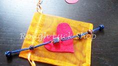 Lapis Lazuli Bracelet Wire Wrapped Copper Button by ROUGHLUCKSHOP