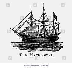 mayflower ship engraving - Google Search