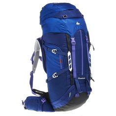 Backpack Trekking Symbium Women s Litres - Dark Blue Luggages and Bags  Designed for women hiking regularly in the mountains for several days with  ... 155d7090b1fd