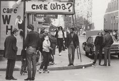 Cafe Wha? in New York City's Greenwhich Village owned by David Lee Roth's uncle Manny