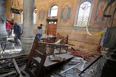 Blast hits church in Egypt's Alexandria, kills several people