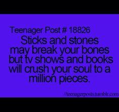 Sad that it's true
