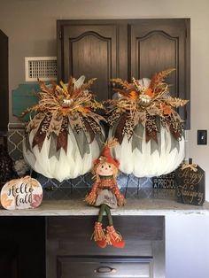 Best 12 Fall Wreath Fall Harvest Wreath Pumpkin Wreath – Page 556546466450728551 – SkillOfKing. Thanksgiving Wreaths, Fall Wreaths, Thanksgiving Decorations, Thanksgiving Pictures, Thanksgiving Drinks, Harvest Decorations, Halloween Decorations, Autumn Decorating, Pumpkin Decorating