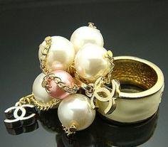 ♥•✿•♥•✿ڿڰۣ•♥•✿•♥ ♥   chanel cluster ring  ♥•✿•♥•✿ڿڰۣ•♥•✿•♥ ♥