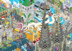 Amazing Pixel Art Posters by Eboy – Rabbleboy – Kenneth Lamug Author, Illustrator, Books, Film, Graphic Novels, Writing Graphic Novels, Art Posters, Pixel Art, Illustrator, Author, Writing, Film, Amazing, Books