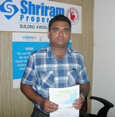 Shriram Panorama Hills sincerely thanks Mr. G.V.V. Ramesh for supporting the project. http://vizag.shriramproperties.com/