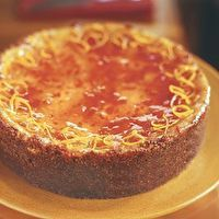 Ricotta Cheesecake with Blood Orange Marmalade Glaze by Williams-Sonoma
