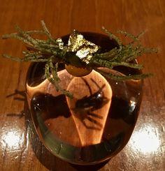 https://flic.kr/p/SG9deD | fried potato strings seaweed salt from Atelier Crenn | www.placesiveeaten.com/blog/atelier-crenn