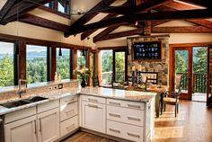 Beach cabin kitchen?