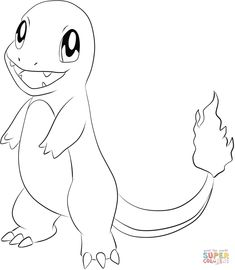 Charmander | Super Coloring
