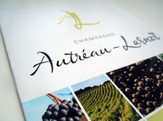 Champagne Autréau-Lasnot // Leaflet