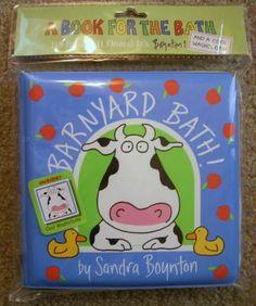 Barnyard Bath: Sandra Boynton: 9780761147183: Amazon.com: Books