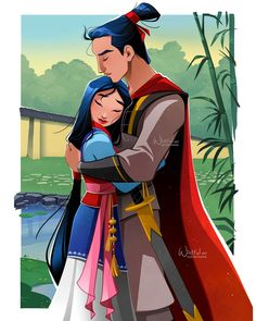 Disney Princess Art, Disney Princess Dresses, Disney Fan Art, Starco, Film Disney, Disney Pixar, Animation Film, Disney Animation, Li Shang