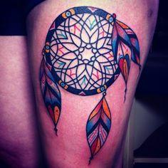 #ink #tattoo #dream catcher