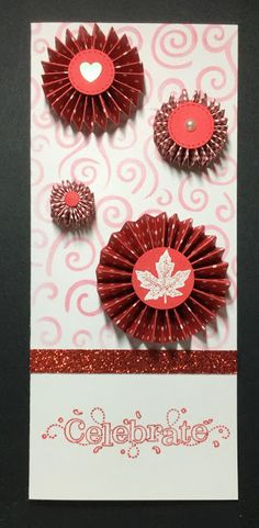 Early Morning Crafts: Canadian Patriotic Card Accordion Fold, Gift Certificates, Early Morning, Fireworks, Cardmaking, Stamping, Card Stock, Stencils, Paper