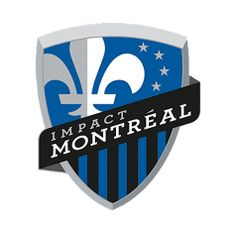 Montreal Impact Primary Logo on Chris Creamer's Sports Logos Page - SportsLogos. A virtual museum of sports logos, uniforms and historical items. Currently over on display for your viewing pleasure Soccer Logo, Football Team Logos, Soccer Fans, Sports Logos, Sports Teams, Football Soccer, Toronto Fc, Hockey, Badges