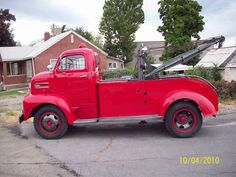 1948 Ford F5 COE Wrecker w/292 V8 & 3speed Manual