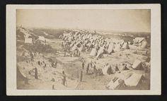 [Camp of the 9th Maine volunteers, Morris Island, SC]