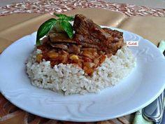 Lecsós sült sertésoldalas Food, Eten, Meals, Diet