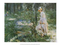 The Thorn Bush, 1887 Art Print by Anders Leonard Zorn at Art.com