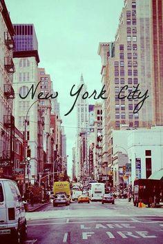 NYC.... love it!!