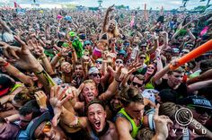 Pic of the crowd @ Veld Music Festival in Toronto