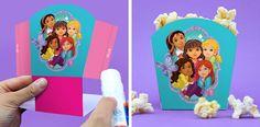 Dora and Friends Popcorn Holders