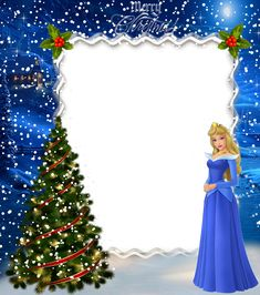 Christmas Kids Princess Aurora Photo Frame