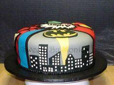 Super Heroes Birthday Cake By Sweetsbymonica Cakesdecor