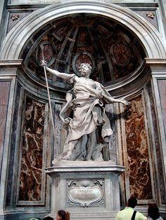 St. Longinus, Bernini, St. Peter's. Rome