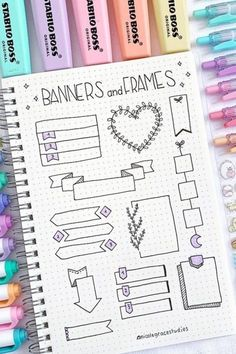 If you want to add some extra decoration to your titles and headers, check out these awesome bullet journal banner ideas and tutorials for inspiration! Worthwhile diary may help you prepare your evryday daily schedules plus enable you to prevent missing out on vital appointments. For people who have not genuinely used it however, performing by it for a while will assist you to acquire utilized to replacing this similar to when you update your e-mail or social networks reports including Facebook Bullet Journal School, Bullet Journal Paper, Bullet Journal Headers, Bullet Journal Notebook, Bullet Journal Ideas Pages, Bullet Journal Inspiration, Bullet Journal Decoration, January Bullet Journal, Journal Fonts