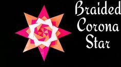 "Modular Origami tutorial - Paper ""Braided Corona Star - Mandala""  Design..."