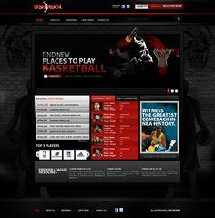Basketball Website Design
