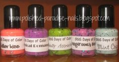 Polished Paradise: 365 Days of Color: Toxic Love Collection