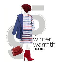 """Winter boots"" by groove-muffin ❤ liked on Polyvore featuring J.J. Winters, WithChic, women's clothing, women's fashion, women, female, woman, misses and juniors"