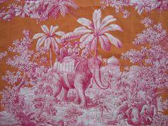 Manuel Canovas' Bengale toile