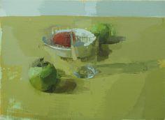 Frutas. 27x37 cm. Miguel Coronado
