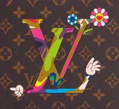 Louis Vuitton Murakami Moca